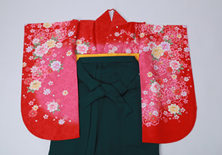 No.1190 新作 定番の赤×ピンクの華やかスタイル