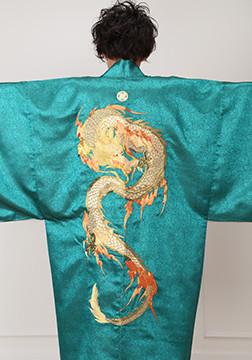 MEN'S 刺繍入り羽織の衣装画像1