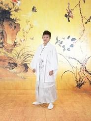 白 羽織袴セットの衣装画像1
