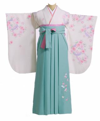 パステルトーンの着物と袴