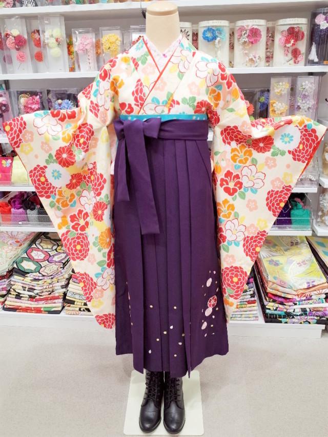 ジュニア袴 J-0005の衣装画像1