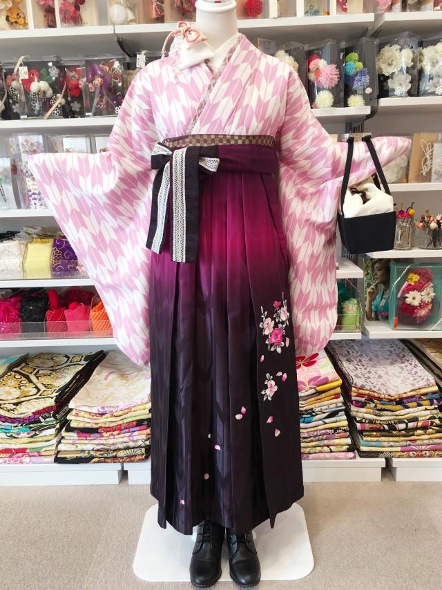 P-0003/HL赤紫刺繍の衣装画像1