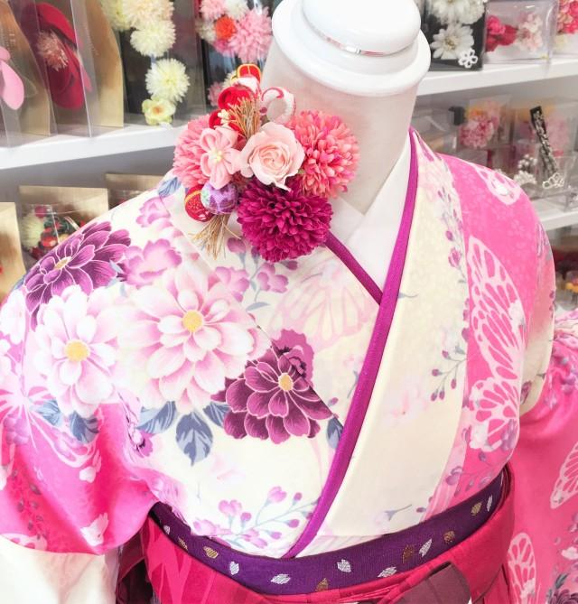 P-0003/HL赤紫刺繍の衣装画像2