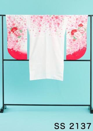 No.2107 イチゴみるくのようなかわいい二尺袖