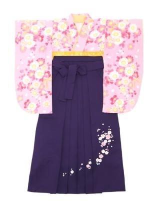 No.4155 ピンクと黄色の爽やかな着物