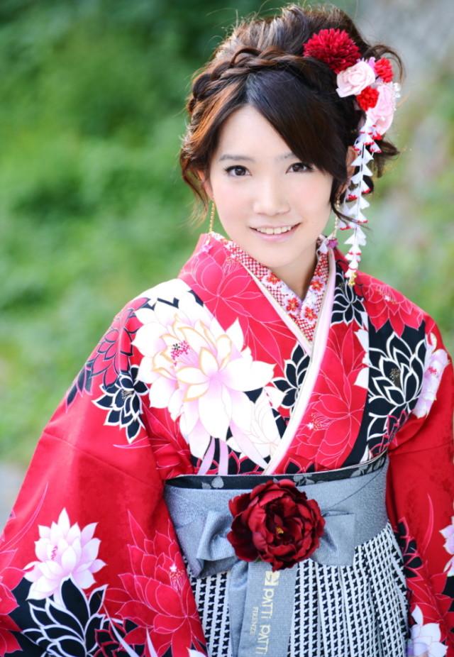 卒業式袴レンタルセットの衣装画像2