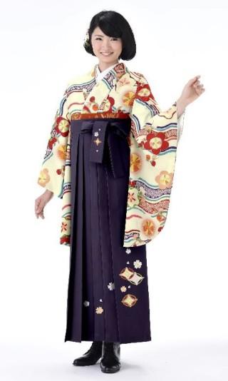 No.4513 二尺袖着物+袴レンタル