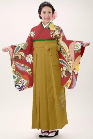 No.4570 二尺袖着物+袴レンタル