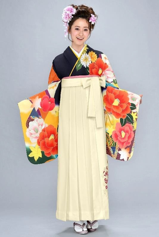 二尺袖着物+袴レンタルの衣装画像1