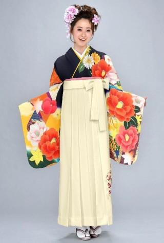 No.4572 二尺袖着物+袴レンタル