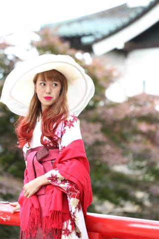 No.1699 トリンドル白×桜吹雪赤