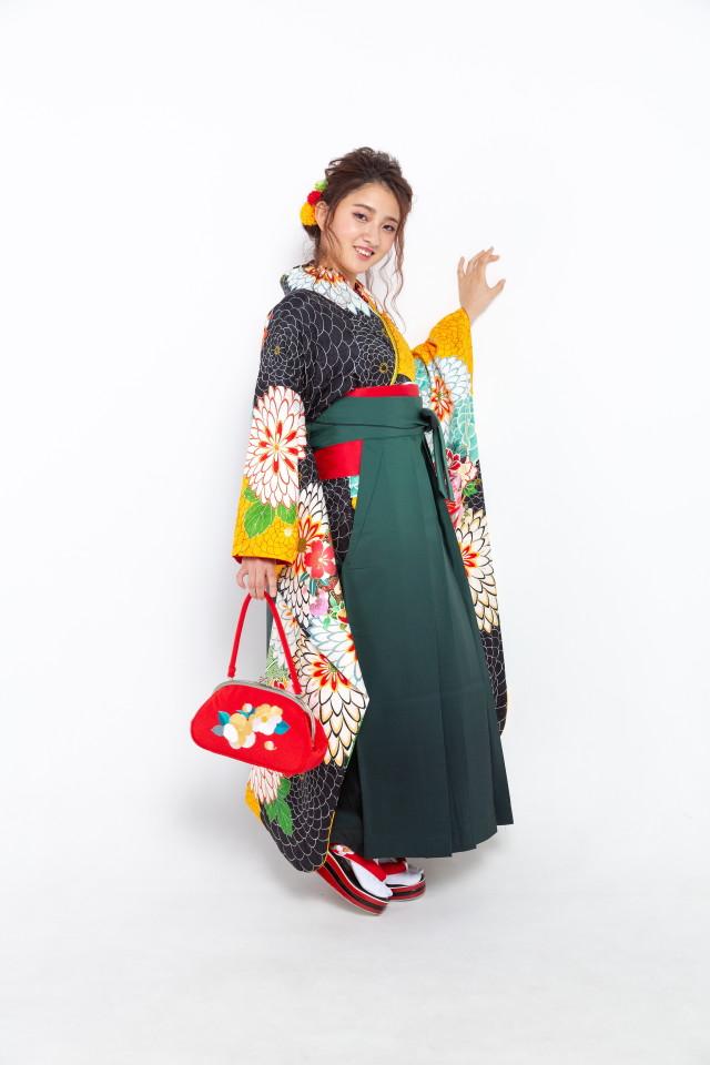 黒と黄色の千寿菊の衣装画像2