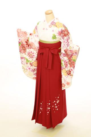 No.4055 二尺袖袴用着物 袴セット