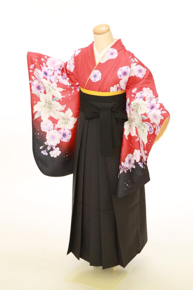 二尺袖着物 袴セットの衣装画像2