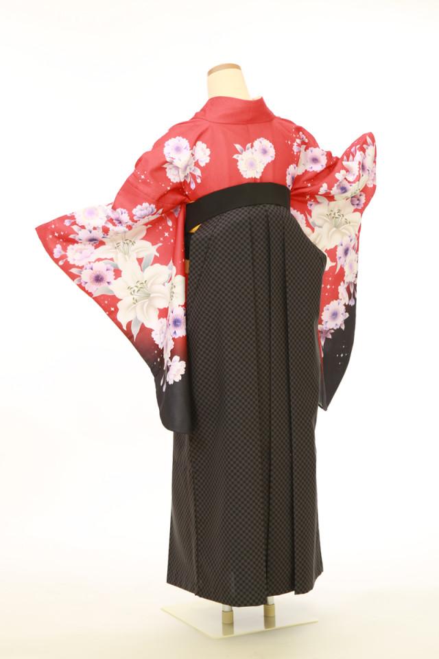 二尺袖着物 袴セットの衣装画像3