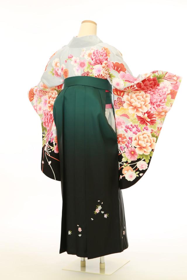 二尺袖袴用着物 袴セットの衣装画像3