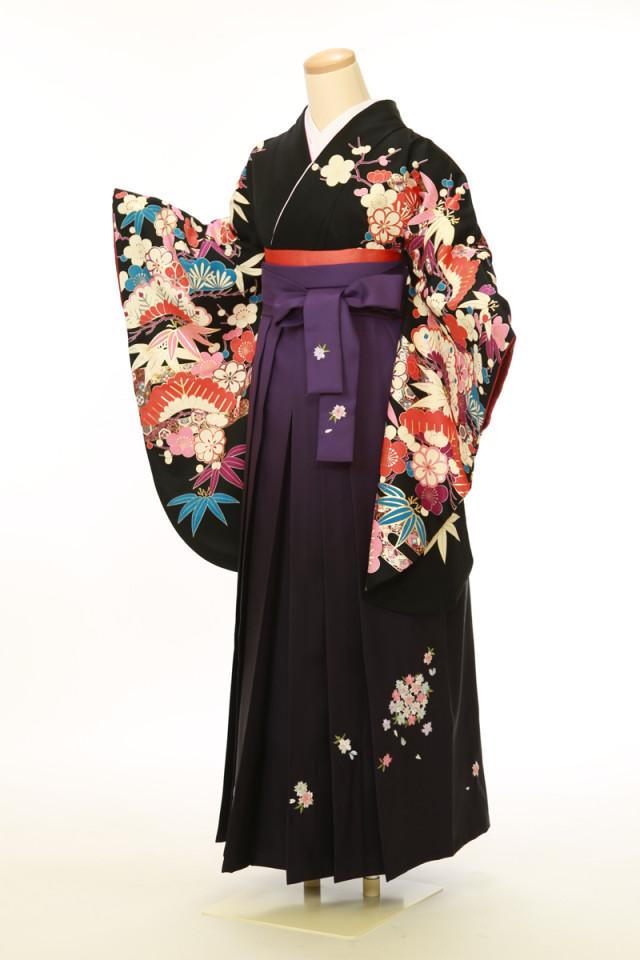 二尺袖着物 袴セットの衣装画像1
