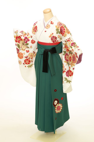 No.4059 二尺袖袴用着物 袴セット