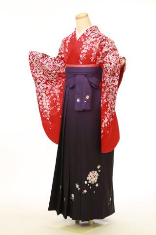 No.4061 二尺袖袴用着物 袴セット