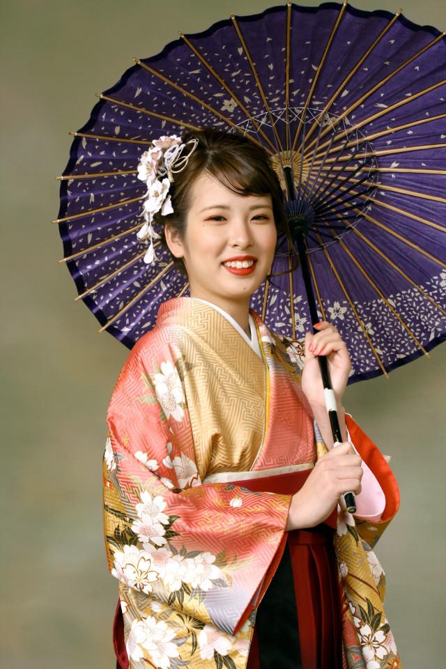 卒業式袴セットの衣装画像1