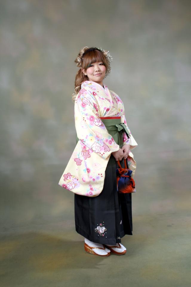 卒業式袴セットの衣装画像2