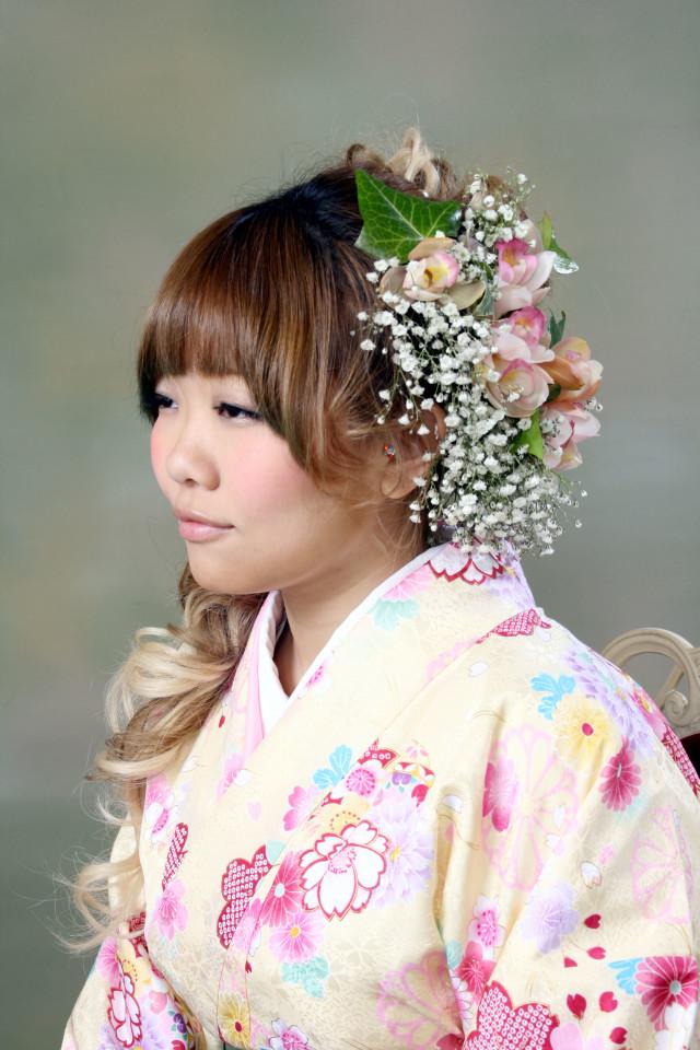 卒業式袴セットの衣装画像3