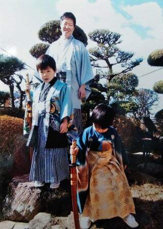 No.5349 お父さんの袴セット(七五三・男の子)