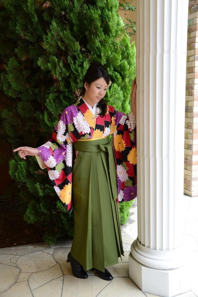 卒業式袴の衣装画像1