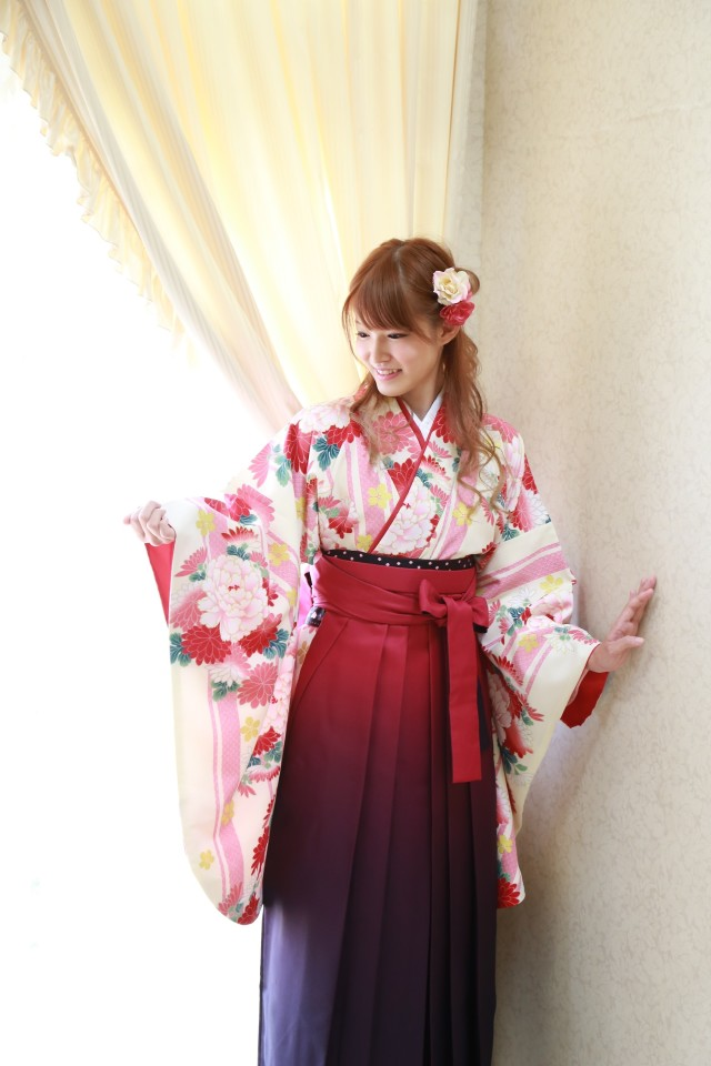 卒業式 袴の衣装画像1
