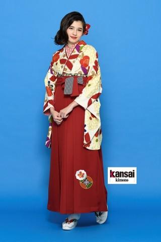 No.2916 【kansai】着物-433 袴-291