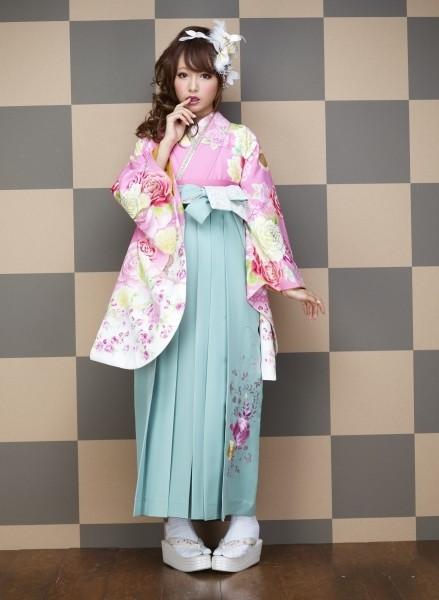 かわいい系袴の衣装画像1