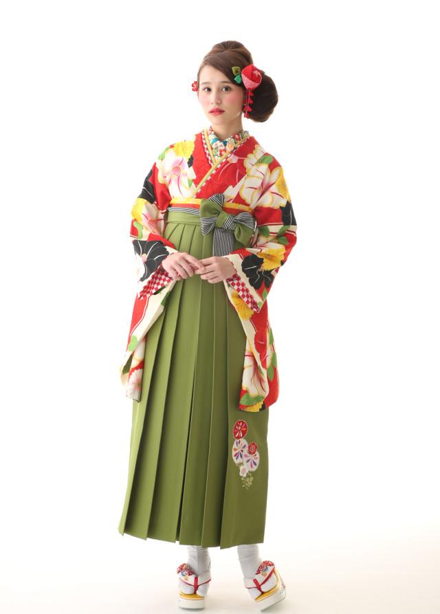 レトロ袴の衣装画像2