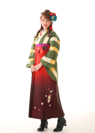 No.3456 レトロ袴