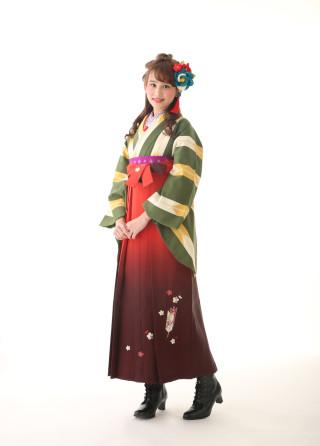 No.3391 レトロ袴