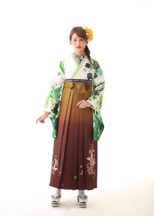 かっこいい系袴の衣装画像1