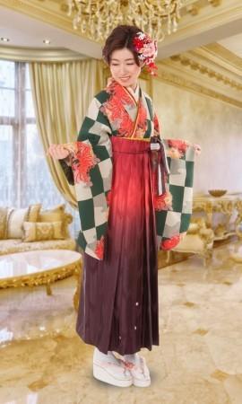3 卒業式袴レンタルの衣装画像1