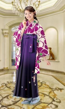 5 卒業式袴レンタルの衣装画像1