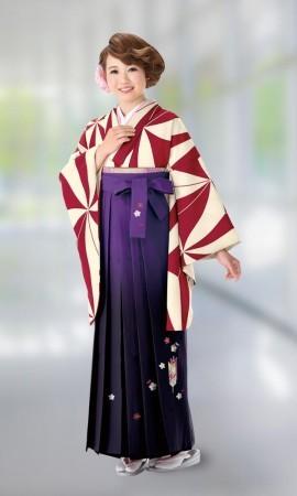1 卒業式袴レンタルの衣装画像1