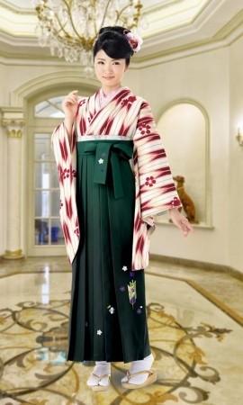 2 卒業式袴レンタルの衣装画像1