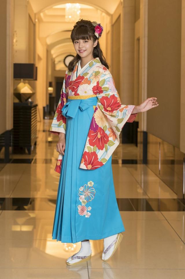 8 卒業式袴レンタルの衣装画像1