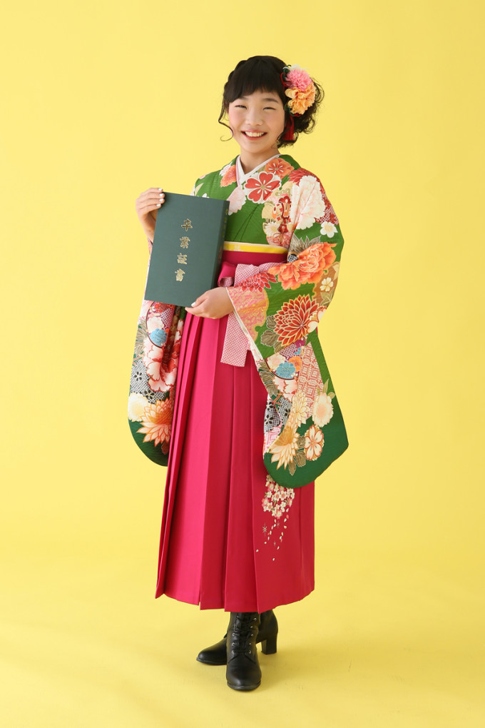 卒業袴衣裳レンタルプラン(小学生)