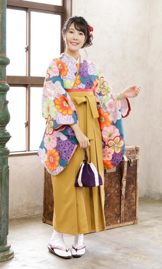 卒業式袴レンタル10