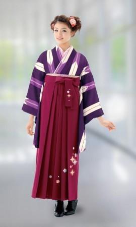 卒業式袴レンタルの衣装画像1