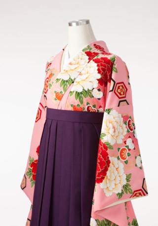 No.2813 【ひいな】可愛らしいピンクの袴