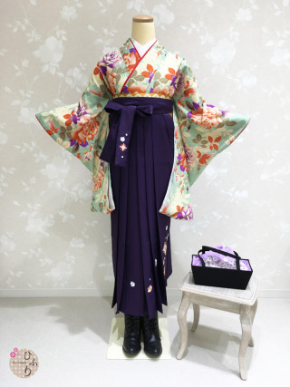 No.3331 GR-0009/七宝刺繡紫