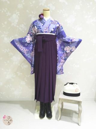 No.3785 B-0001/無地紫