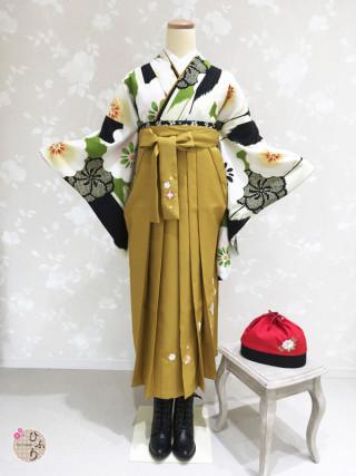 No.3786 BK-0013/七宝刺繡金茶