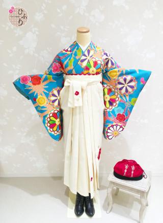 No.3875 B-0008/椿刺繡クリーム