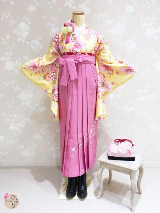 No.3881 Y-0003/桜刺繡ピンク