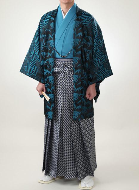 大人男性 ブルー系の衣装画像1